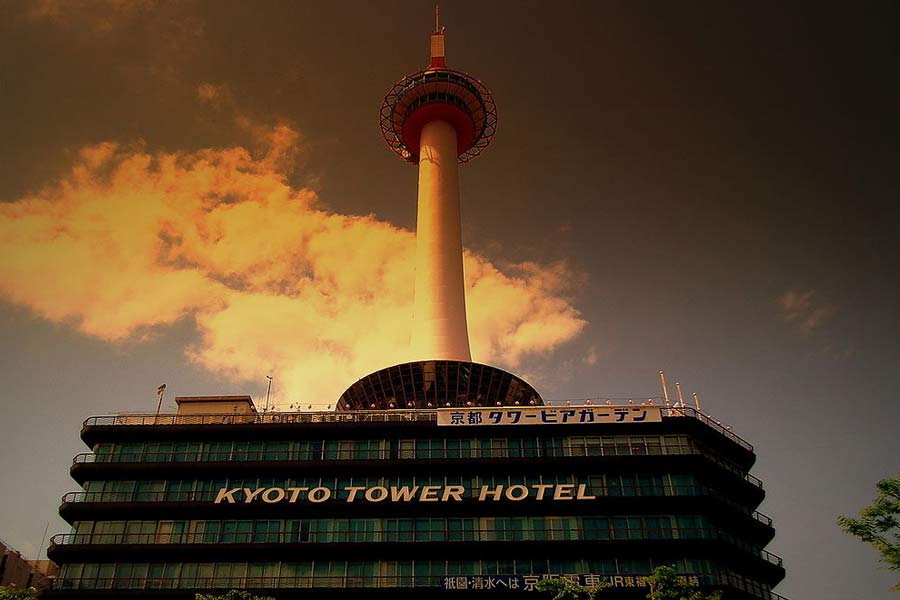 Things to do in Kyoto: Visit the Kyoto Tower.