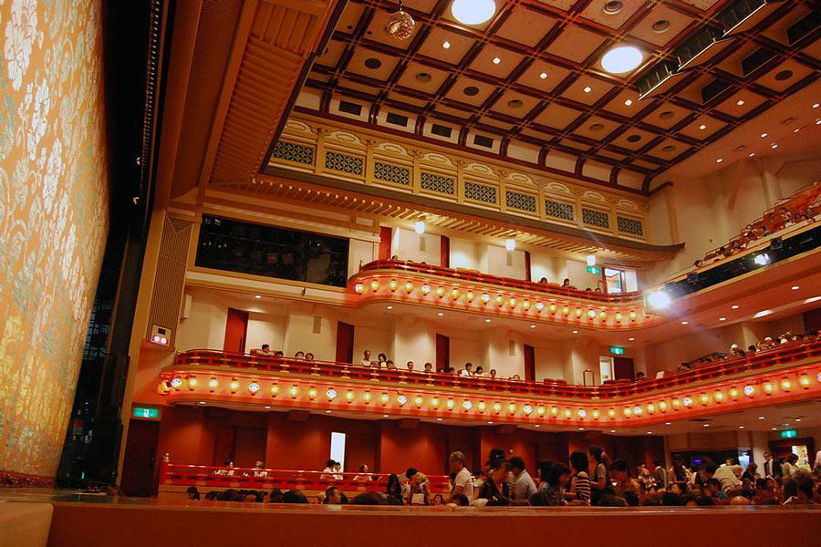 Minamiza Kabuki Theater in Kyoto.