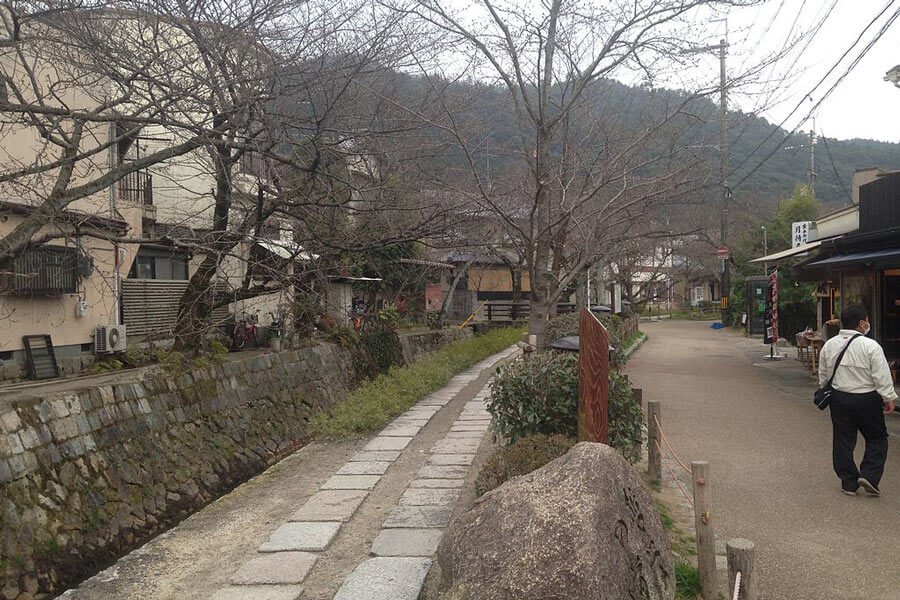Things to do in Kyoto: Stroll down Philosopher's Walk.
