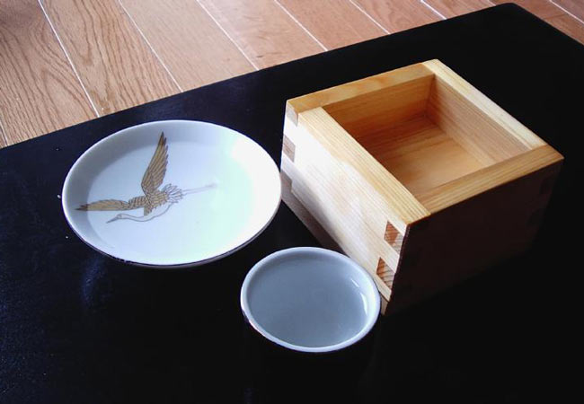 Sake Cups.
