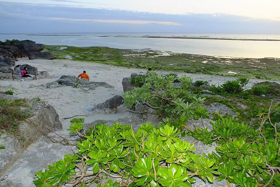 Nakamoto Beach, Okinawa.