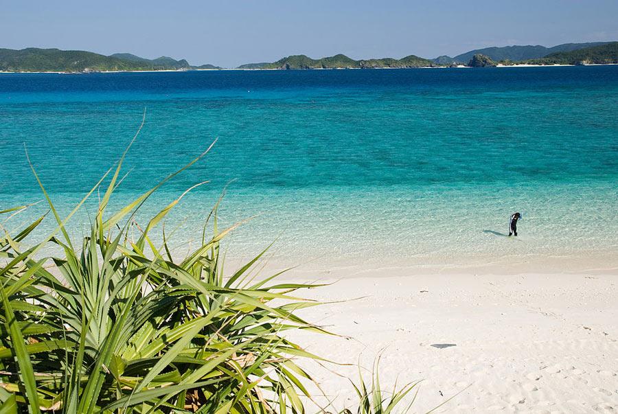 Nishibama Beach, Okinawa.