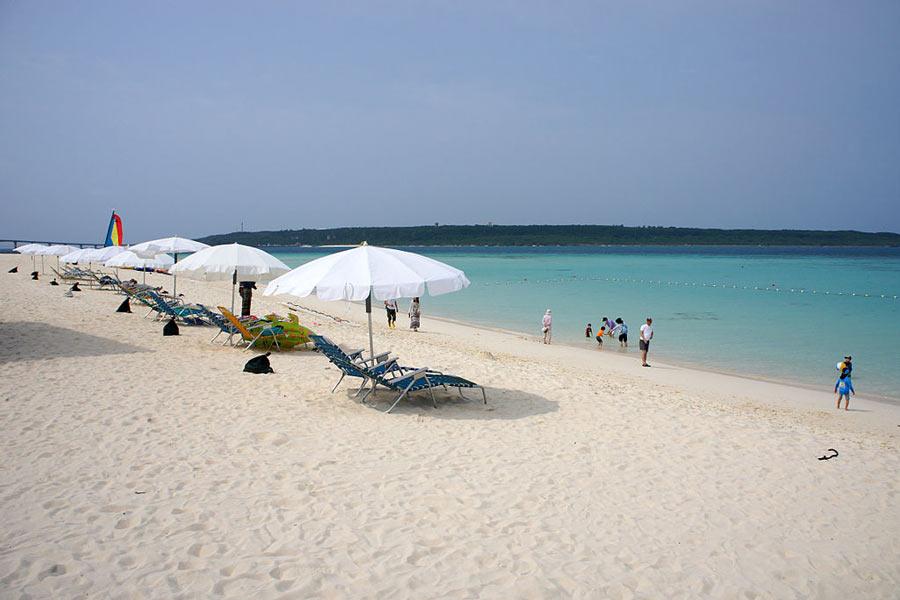 Yonahamaehama Miyakojima Beach, Okinawa.