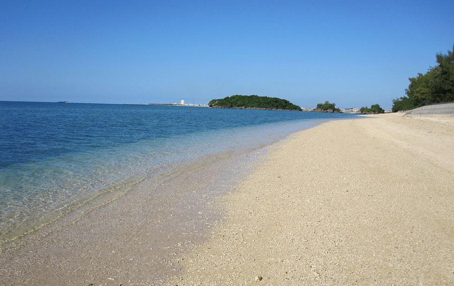 Kitanashiro Beach, Okinawa.