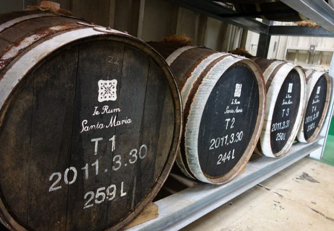 Iejima Distillery in Okinawa