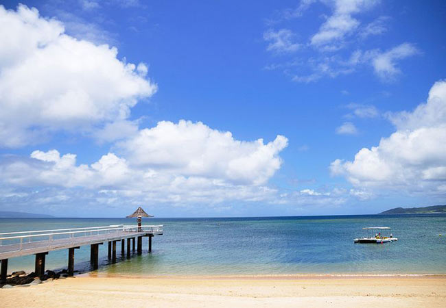 Beaches of Okinawa: Fusaki