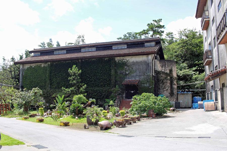 The Helios Distillery in Okinawa.