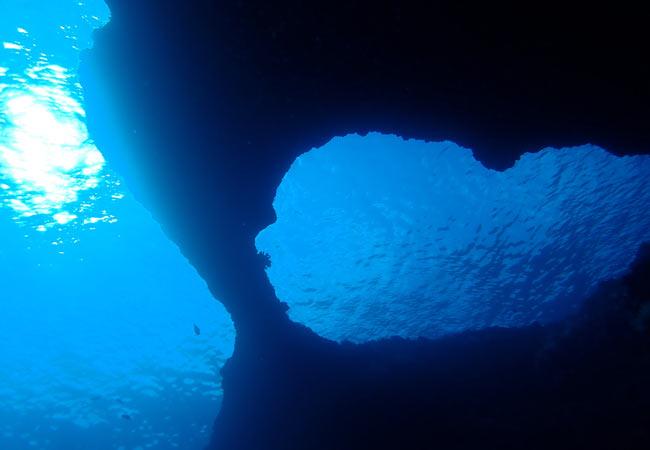 W-Arch Okinawa Dive Spot
