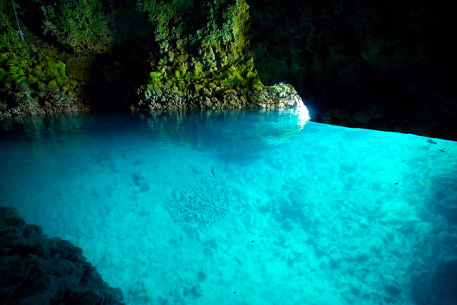 Okinawa Diving Spots: Blue Cave