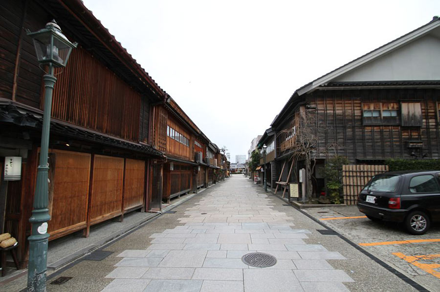 The Nishi Chaya-Gai Geisha District