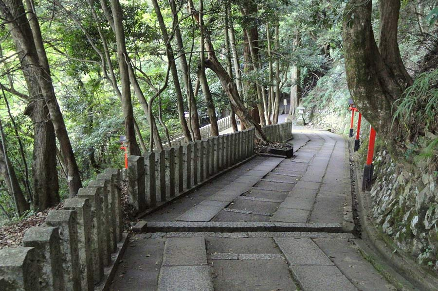 Hiking trails in Kyoto: Kurama to Kibune Hike