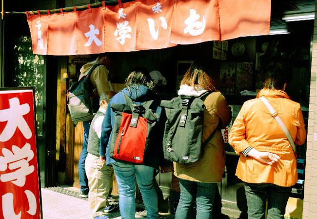 Ninja Food Tours at a Sweet Potato Shop.