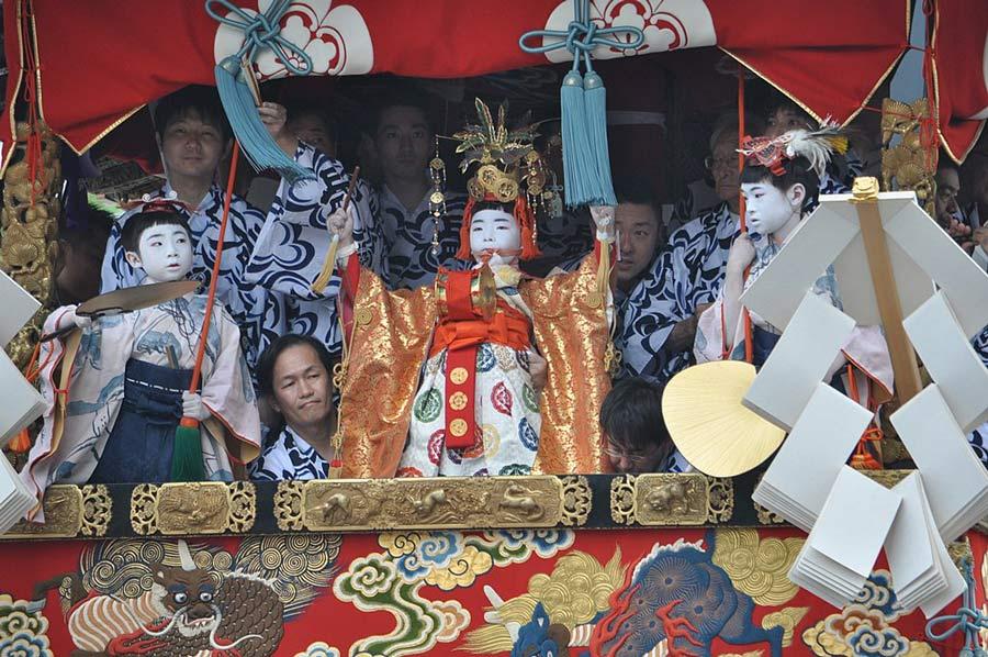 The Gion Matsuri Festival.
