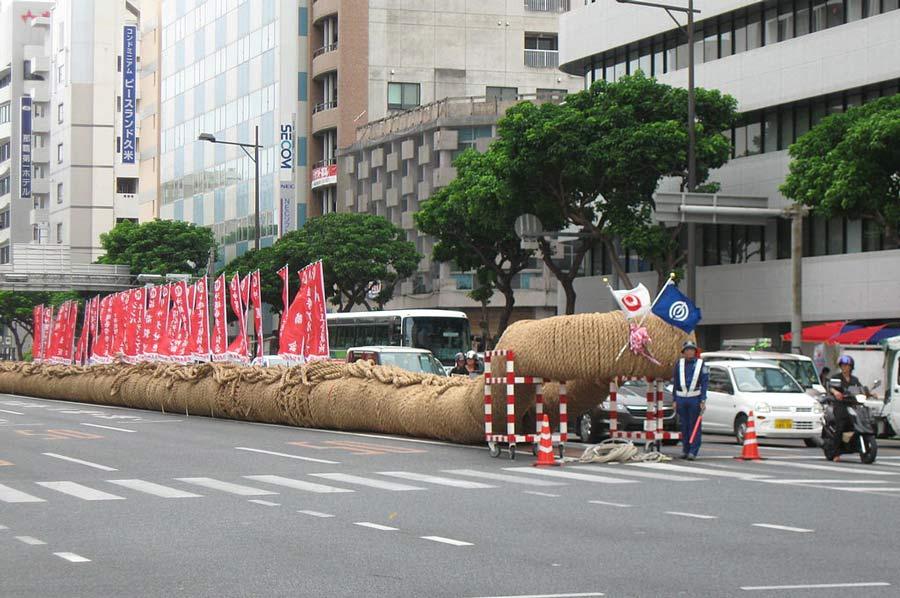 Naha Matsuri Tug of War Rope.