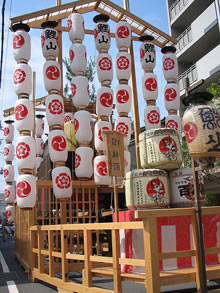 Gion Matsuri Festival Lanterns
