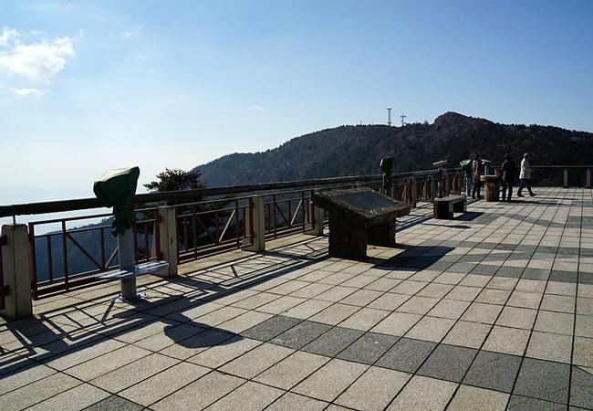 Views from Mount Unzen