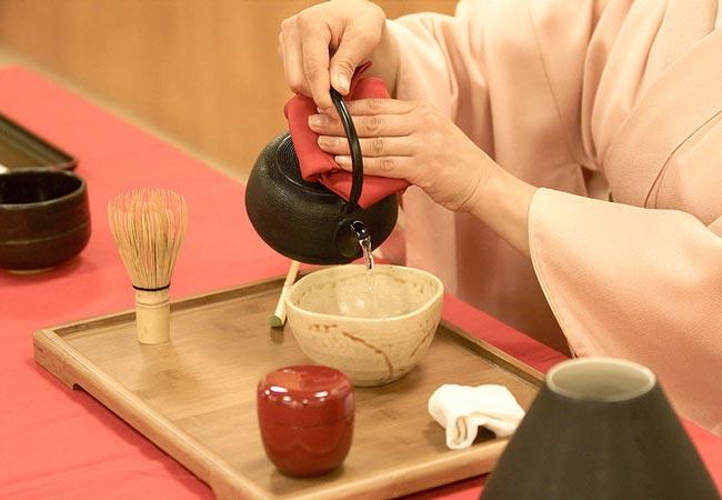 Japanese tea ceremony utensils
