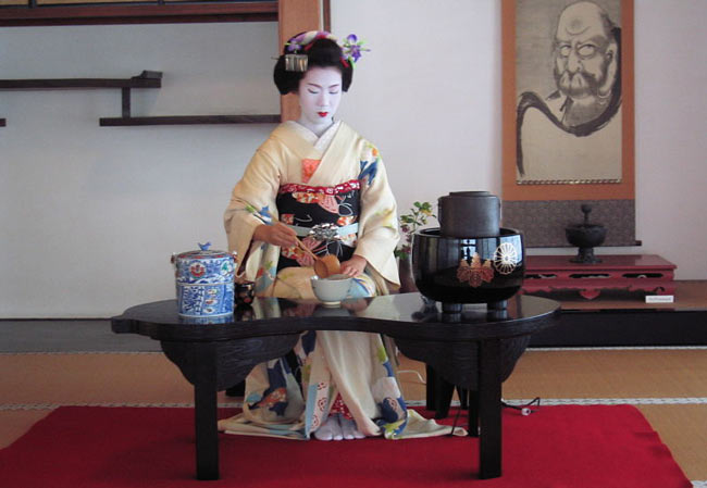 Indoor Japanese Tea Ceremony