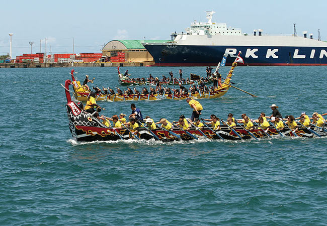 Dragon Boat Races: Itoman Hari
