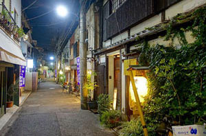 Geisha districts of Tokyo
