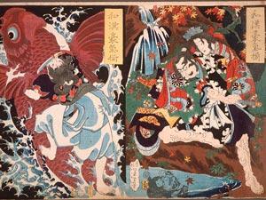 Ukiyo-e workshops
