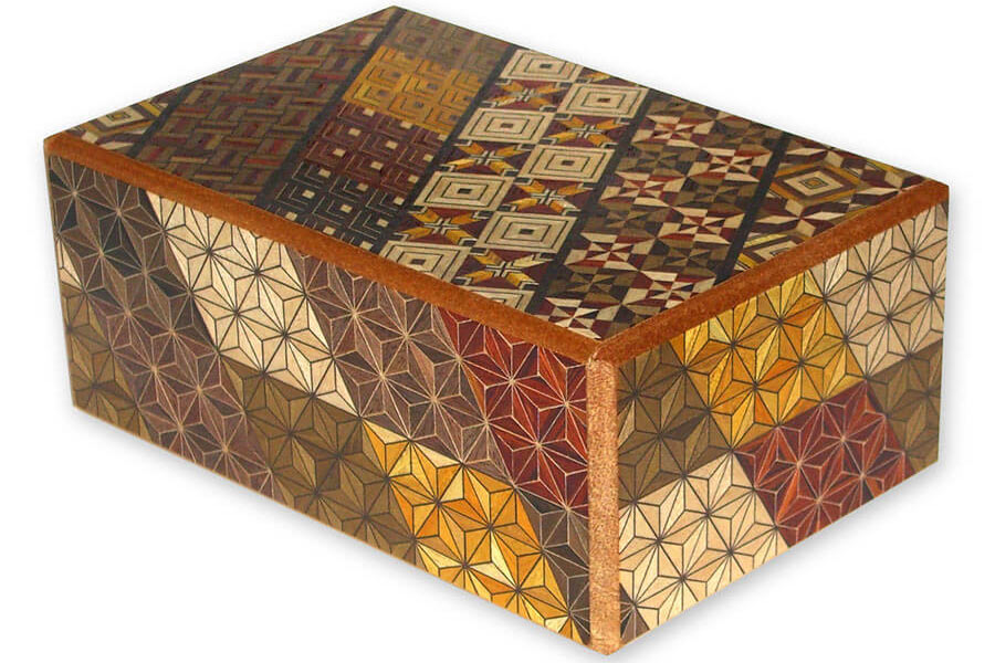 A Japanese Puzzle Box.