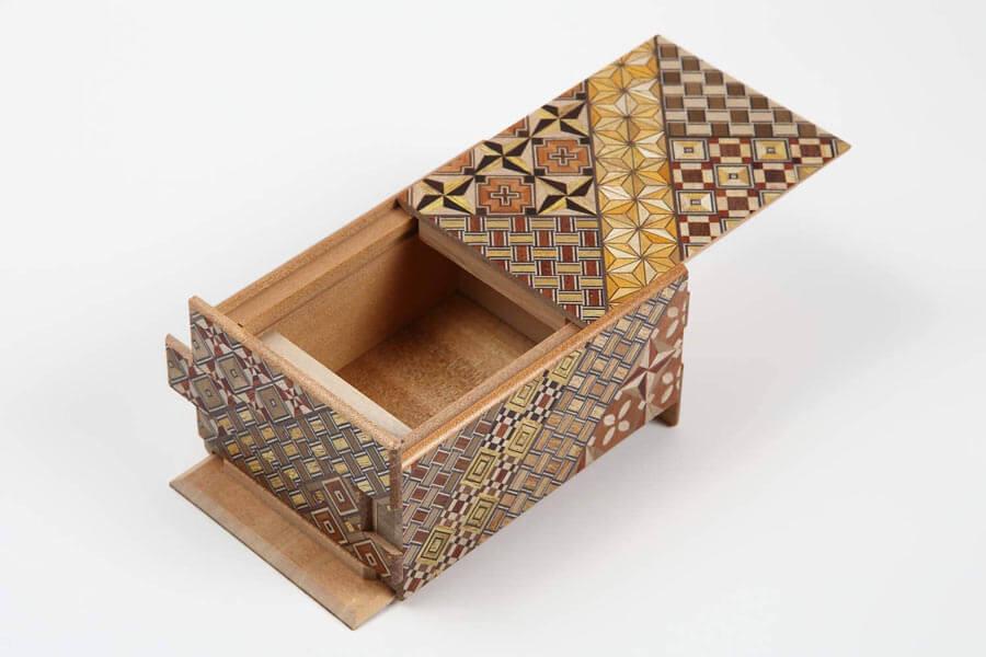 Yosegi Puzzle box - 21 Sun