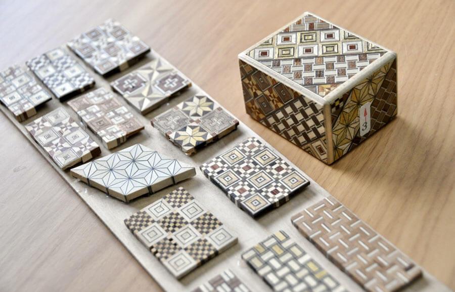 Yosegi zaiku patterns