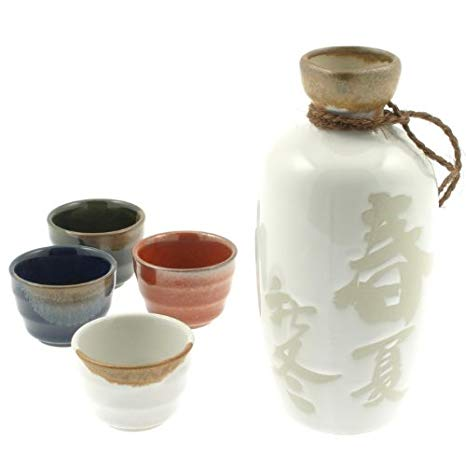 Sake sets made in Japan