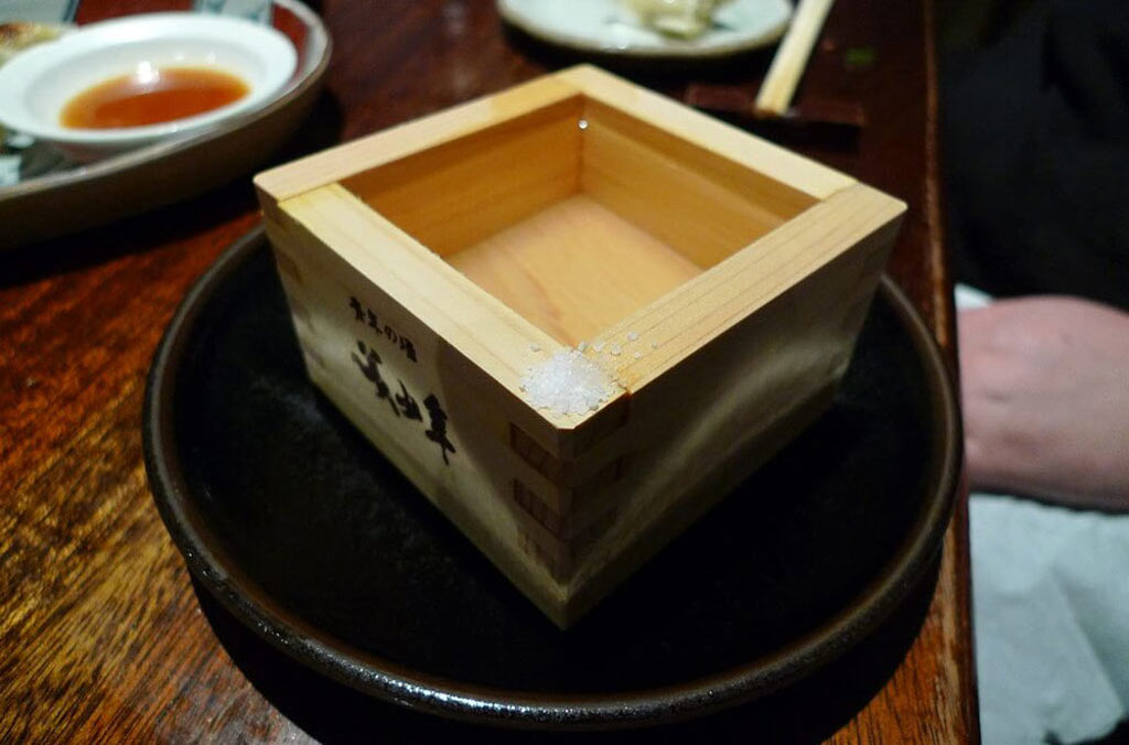 Learning how to drink sake