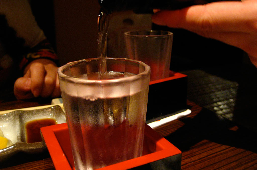 Sake drinking tours