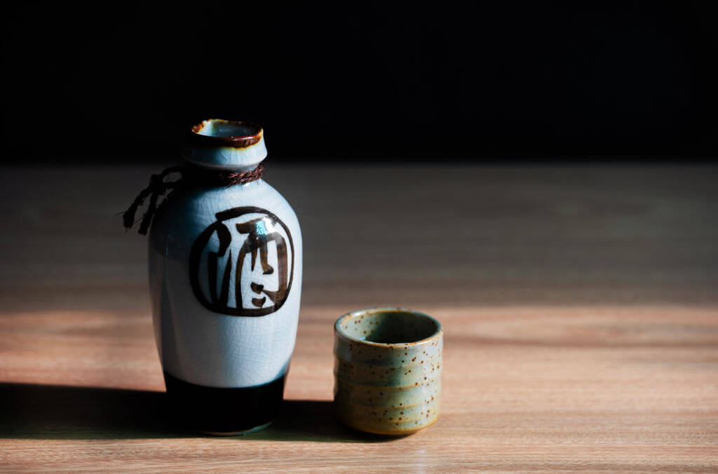 Sake sets from Japan