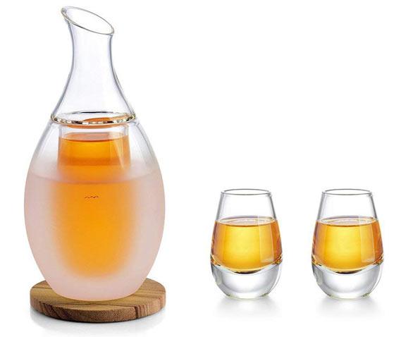 Warm sake set