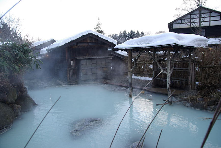 Tsurunoyu onsen