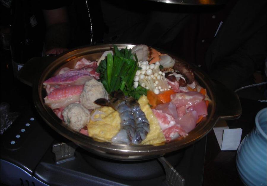 Chankonabe sumo food.
