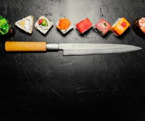 The Best sushi knives