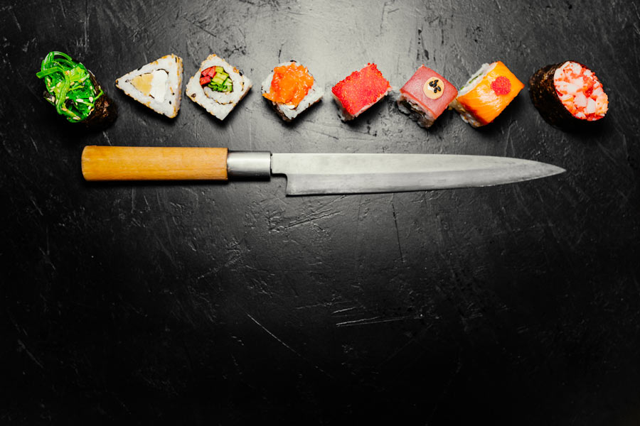 The best Japanese sushi knives.