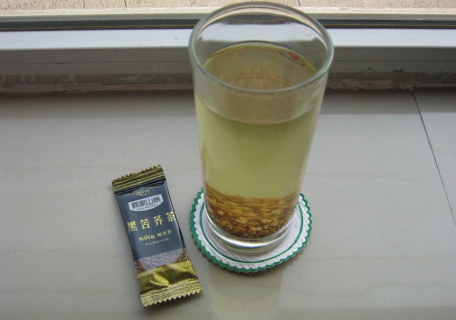 Buckwheat tea