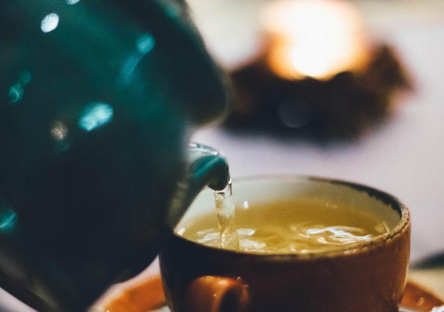 Shogayu tea