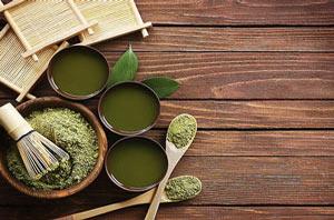 Japanese products: tea