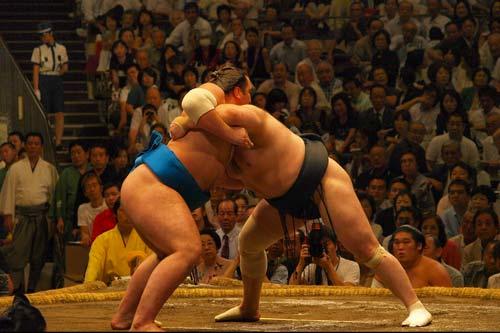 Watch sumo in Tokyo