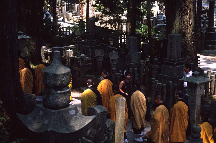 Koya monks