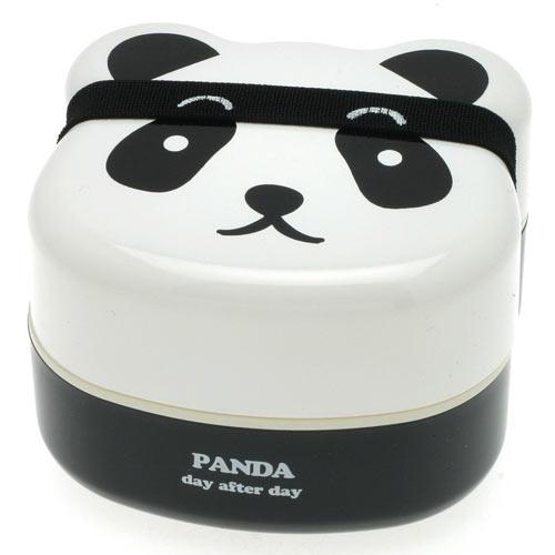 Kotobuki 2-tiered panda face bento box.