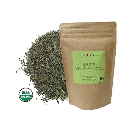 Organic Sencha Green Tea Loose Leaf from Japan