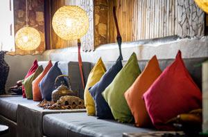 Japanese cushions
