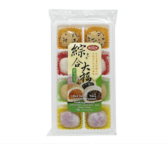 Mixed mochi treats