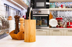 Japanese knife block sets.