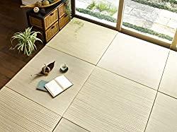 6-piece Igusa unit tatami mat set