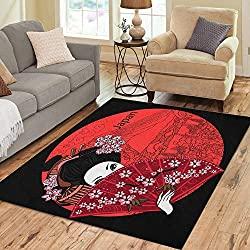 Geisha area rug