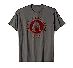 Sumo t-shirt with the Makuuchi Division logo